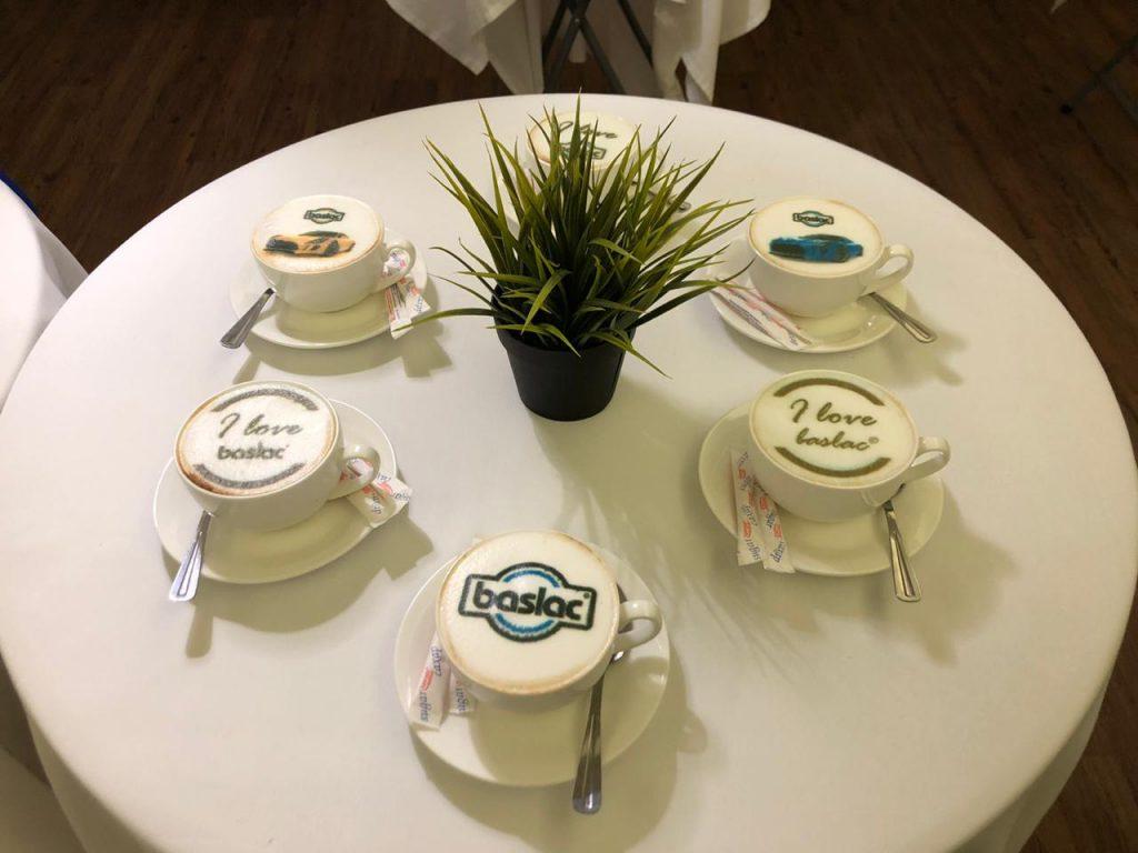 הדפסת לוגו על קפה באירוע